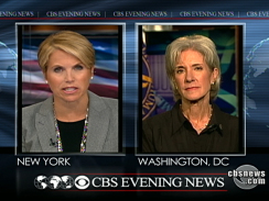 Couric Interview Sebelius