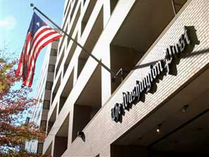 Exterior of Washington Post building