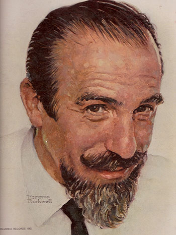 Mitch Miller by Norman Rockwell