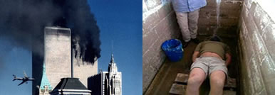 WTC Sept 11 and Waterboarding Images