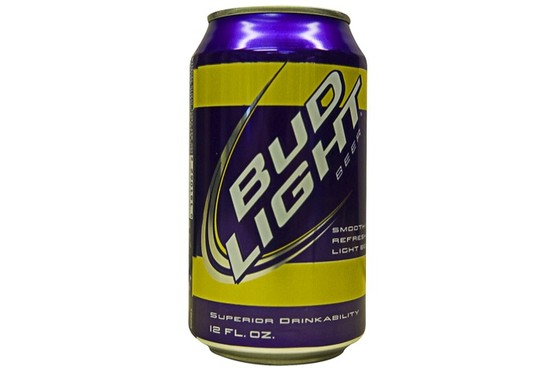 Bud Fan Can for LSU Purple and Gold