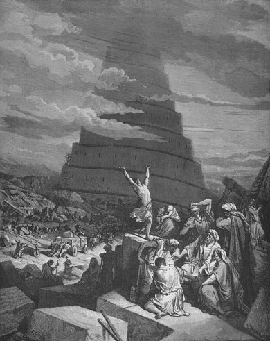 Dore's the Tower of Babel