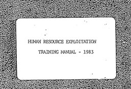 CIA Training Manual