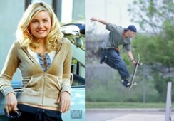 Skateboard Guy Girl