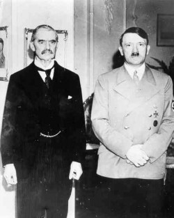 Neville Chamberlain and Hitler
