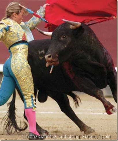 Female Bullfighter