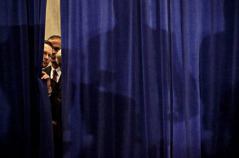 Superdelegates behind the curtain