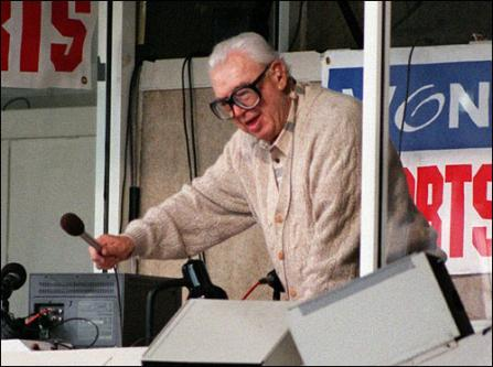 Harry Caray at the Ballgame