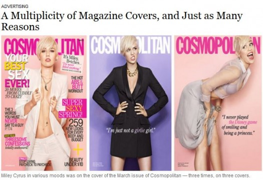 Tailoring Miley Covers