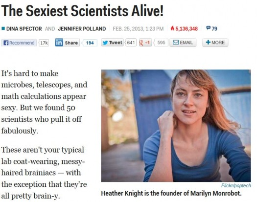 Sexy Scientists