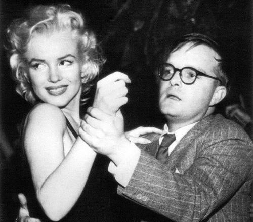 Marilyn and Truman Dancing