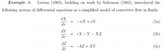 Lorenz Equation