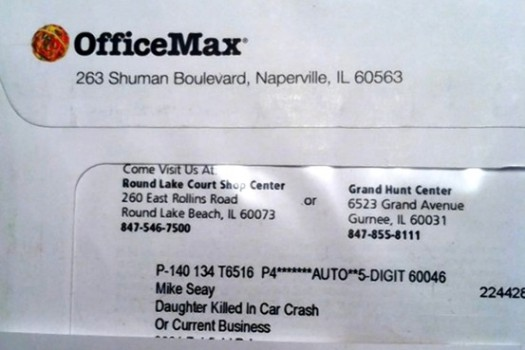 Office Max Big Data Car Wreck