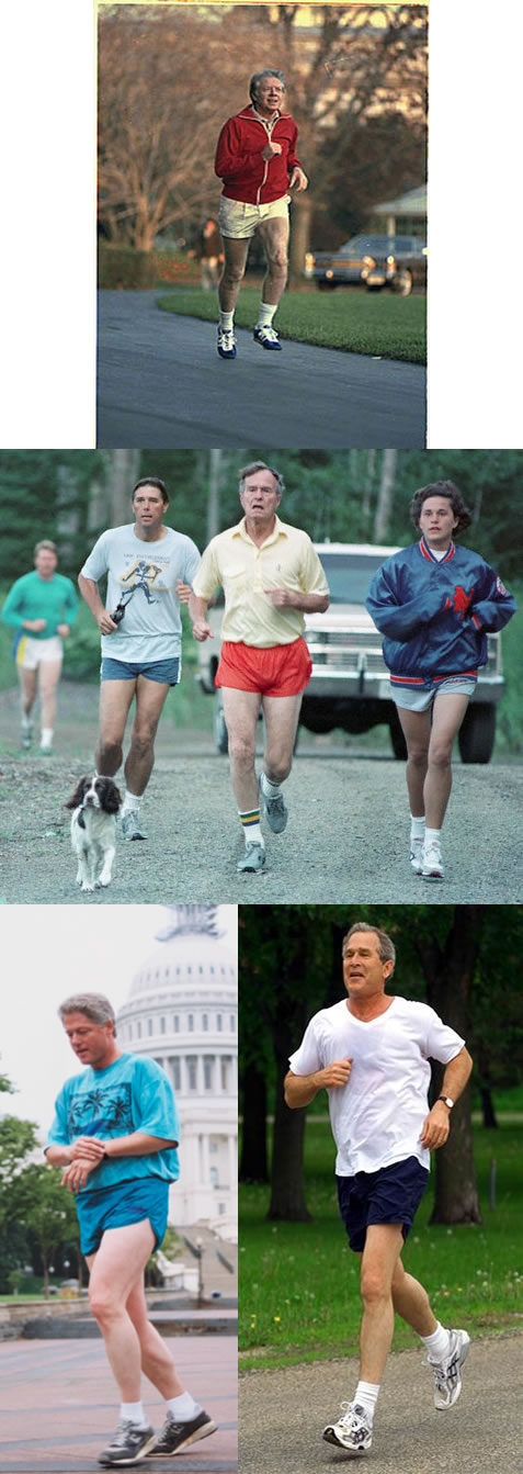 Running Presidents
